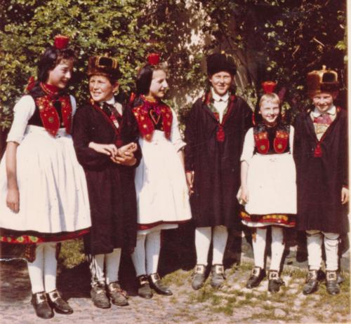 Annemarie, ich, Annemarie, Skip, ?, Horst Hahn
