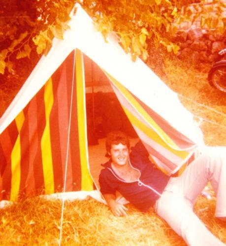 Cavtat zu dritt mit einem Zweimann-Zelt