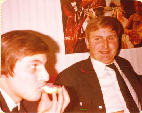 Manni, Hans, bei mir